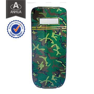 Escudo de camuflaje militar de resistencia al impacto alto