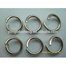 Bolso personalizado anillo accesorio de metal o