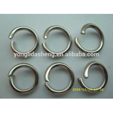 Saco personalizado saco acessório metal o anel