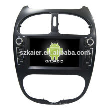 Четырехъядерный! В Android 6.0 автомобиль DVD для Peugeot 206 с 6,2-дюймовый емкостный экран/ сигнал/зеркало ссылку/видеорегистратор/ТМЗ/obd2 кабель/беспроводной интернет/4G с