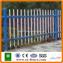 powder coated steel pipe fence