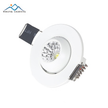 a venda quente 15w conduziu a luz conduzida redonda do teto do downlight o baixo perfil recessed conduziu downlights