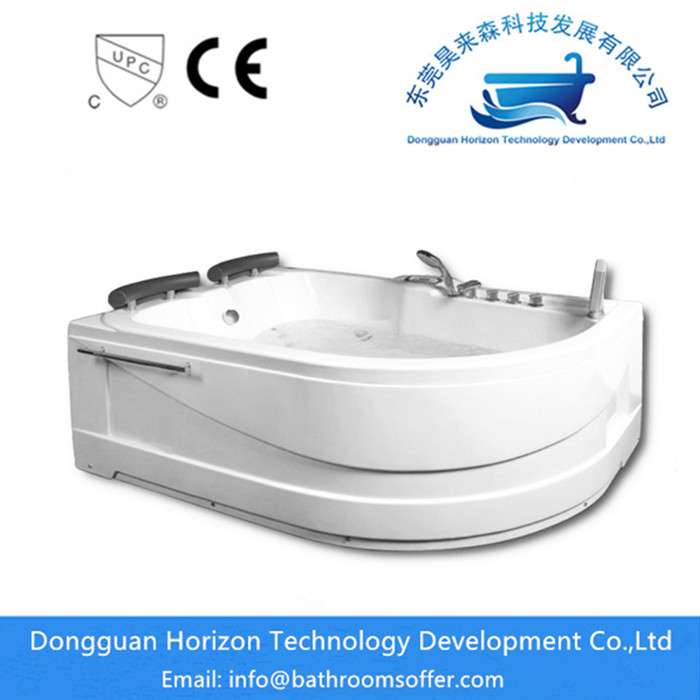 free standing jetted bathtub
