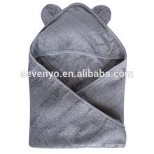100% fibra de bambú BABY con capucha toallas, increíblemente suave, orgánica de bambú y tela de algodón mezclado