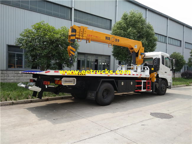 Dongfeng 8T Wrecker Recovery Vehicles