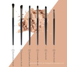 6 Stück Augen Make-up Kosmetik Pinsel Set Kit