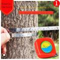 Cinta métrica del cuerpo de las cintas métricas de la cerradura de empuje de los 2m