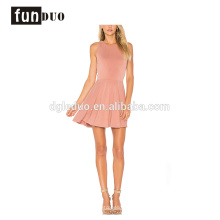 ärmelloses Kleid des kurzen Rockkleides elegante Art und Weise neuer Entwurfs-Kleid sleeveless kurzer Rockkleid elegante Art und Weise neues Entwurfskleid