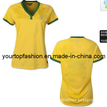 Top Thai Quality Womens Player Version Brasil Soccer Jerseys Wholesale Brazil Womens Jersey, Discount Soccer Kits for Women with Free Shipping by DHL