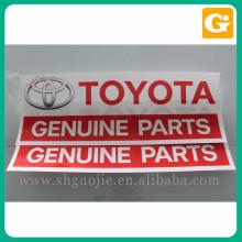 Bon prix autocollant voiture logo personnalisé