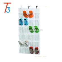 Foldable Fabric Hanging Wall Pocket Storage Organizer Mobile Phone Shoes Hanging Bag