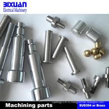 Подвергая механической обработке части, CNC подвергая механической обработке, поворачивая части