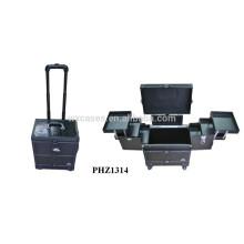 croco modèle roulant valise avec 6 plateaux à l'intérieur du fabricant