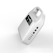Programmable usb portable charging device K9