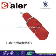Speaker copper binding post copper 4mm/spring binding post