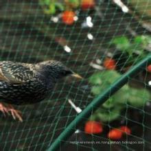 100% nueva red de plástico anti-pájaros de HDPE (ISO)