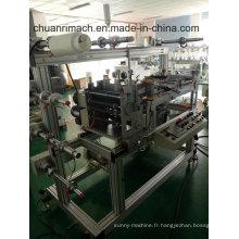 Ruban blanc-noir, Vhb, film protecteur, machine d'étiquetage de trou