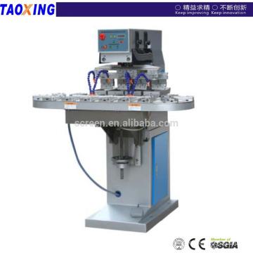 4 color pad printing machine