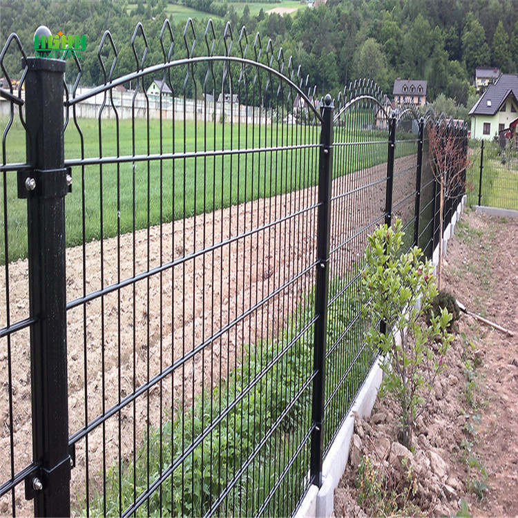PVC+Coated+Double+Horizontal+Panel+Fence