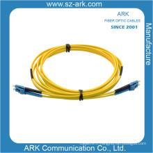 Câble fibre optique duplex LC / PC Singlmode