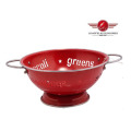 Stainless Steel Handle Metal Fruit Basket
