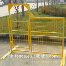 6ftx10ft PVC Coated Temporary Portable Industrial Sites Construction Fence For Special Events