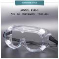 Transparent eye mask for eye protection