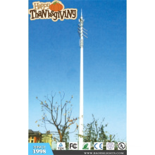 Torre convencional de acero de 30 m para telecomunicaciones