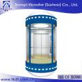 TRUMPF Glasaufzug mit kleinem Maschinenraum
