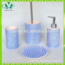 Weißes Keramik-Würze-Set