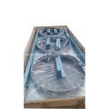 Compresor de CNG intercambiador de calor con protector de ventilador