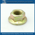 DIN6923 Carbon Steel Hex Flange Nut