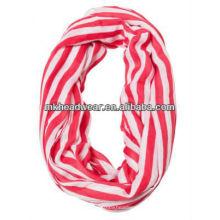 2013 Мода печатных 100% полиэстер вуаль петли шарф для дам