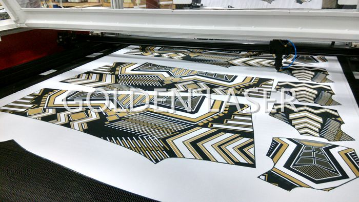 Vision Laser Printed Fabric Cutter
