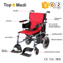 Topmedi Double Controller Electric Power Mobility Wheelchair