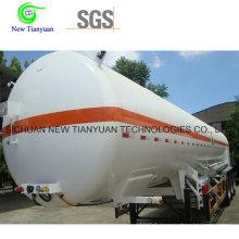 Liquid Ln2 Stockage et transport de semi-remorque de conteneur