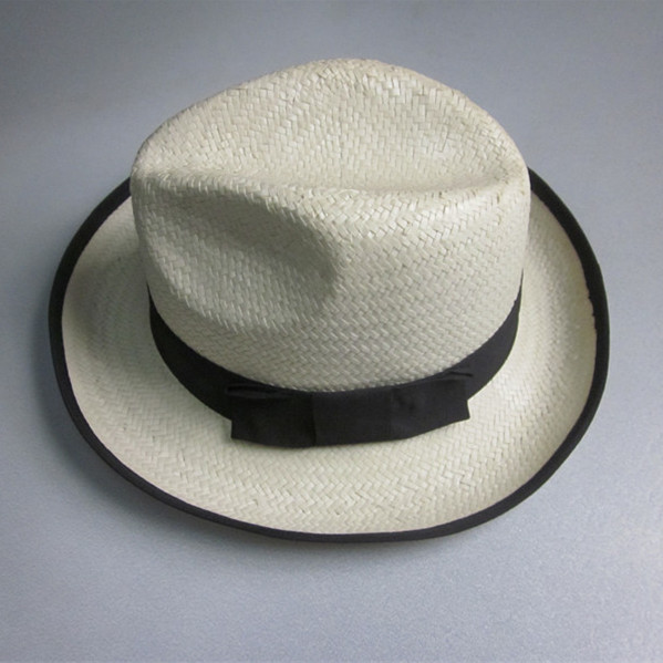 Cheap Men Fedora Style Paper Straw Hat Wholesale
