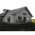 Casa residencial portátil de estructura de acero (KXD-SSB1396)