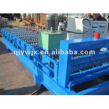 automatic colored wall panel roofing tile roll forming machine
