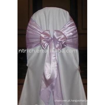faixa de cetim, faixa de poliéster, faixa de cadeira