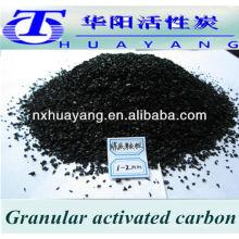 Carvão ativado granulado a base de carvão 12x40 mesh