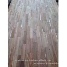 Tipo de placa de junção de dedo Acacia Madeira / Tabuleiro de dedos para móveis de madeira