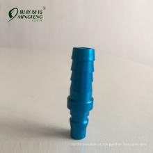 Sul da Ásia simples operação métrica latão tubo conector de encaixe de acoplamento