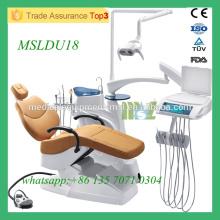 MSLDU18M China Best Manufacture zahnmedizinischen Stuhl hochwertigen Zahnarzt Stuhl