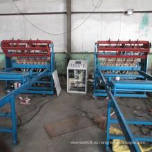 Máquina soldadora de chapa de malla soldada de construcción