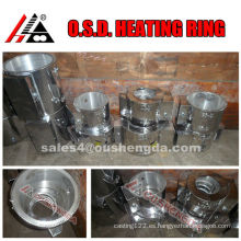 calentadores eléctricos del calentador de fundición de aluminio