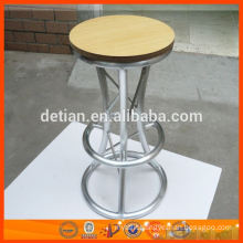 Aluminium bar table and stool for trade show