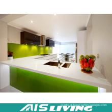 Porta UV com Gabinete de Cozinha Quartz para Apartamento (AIS-K191)