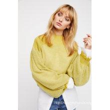 Delicate Knit Semi Sheer Sweater