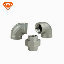 raccords de tuyauterie en acier inoxydable pour le client